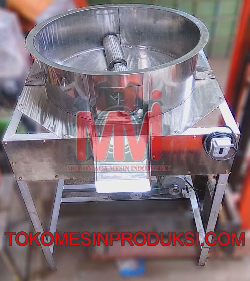 mesin pelumat coklat